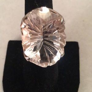 Inna Sense Himalayan Crystal Sterling Silver Ring